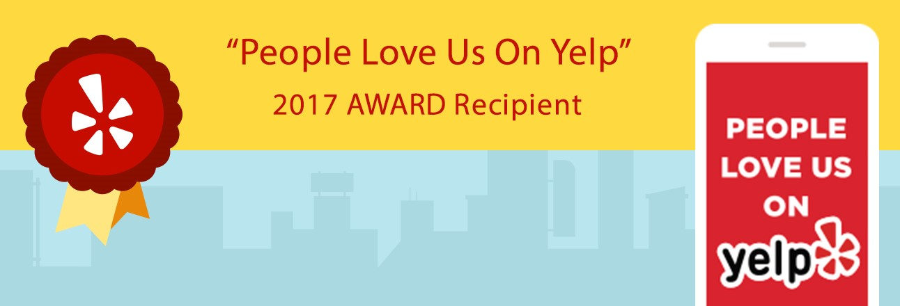 People love us on YELP - horizontal small